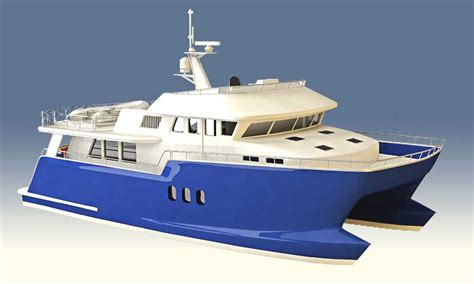 catamaran expedition yacht pacific expedition offers zeus pod drives for pe60