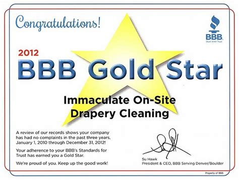 on site drapery cleaning immaculate on site drapery cleaning inc certificates