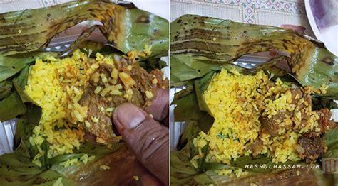nasi bakar menu istimewa  pasar ramadan berasal