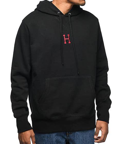Hoodie Sweater Huf huf state black hoodie zumiez