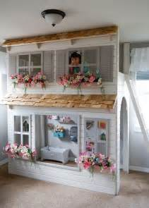 bunk bed with play area underneath 25 best ideas about indoor playhouse on