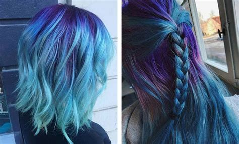 purple blue color 25 amazing blue and purple hair looks stayglam