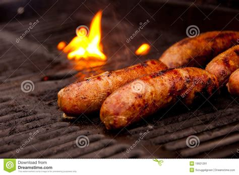 brats grill grilling brats stock image image 19921291