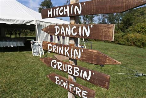 country backyard wedding country backyard wedding featured on hand painted weddings