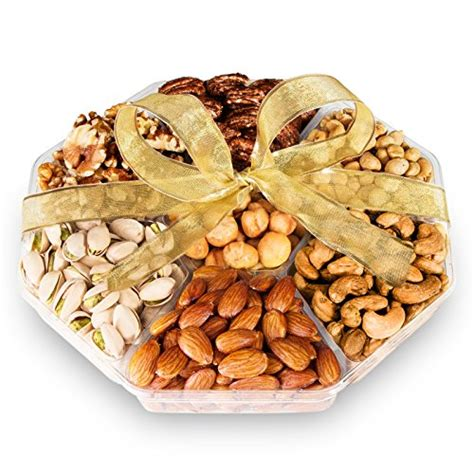 holiday gourmet food nuts gift basket 7 different nuts five star gift baskets compare price to packaged gourmet nuts tragerlaw biz