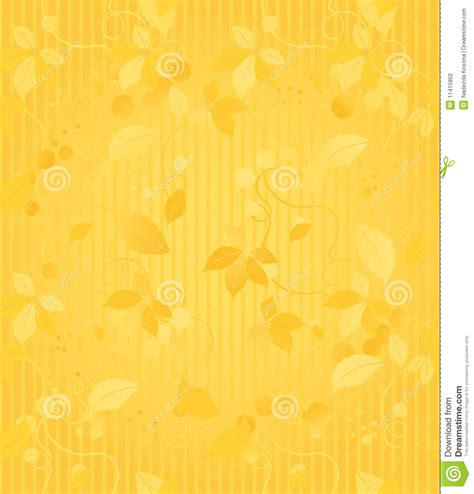 design house skyline yellow motif wallpaper gold seamless wallpaper pattern stock vector