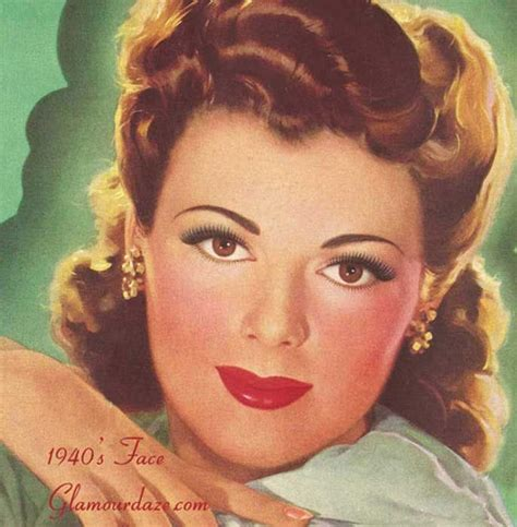 hairstyle facts from the 1940 35 best ideas about 1940 s makeup on pinterest makeup
