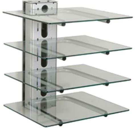 Wall Shelf For Electronics by Peerless Pm610s Four Component Electronics Tower Electronics Tower Mount Type Flat Against