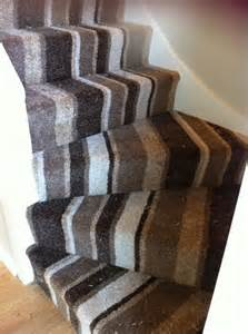 Fitting Carpet On Stairs by 8 Best Images About Striped Stairways With A Turn On Pinterest