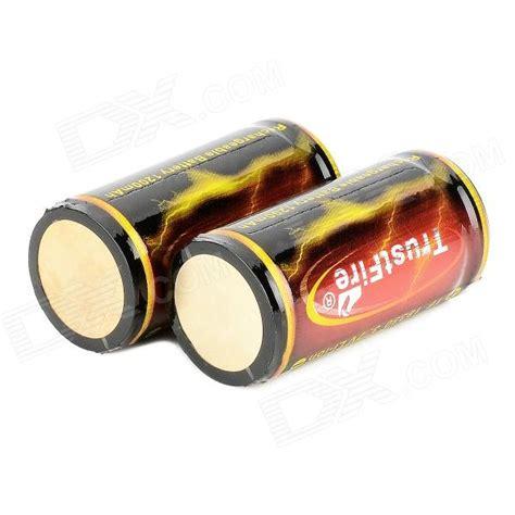 Trustfire 18350 Li Ion Battery 1200mah 3 7v Rechargeable Black 1 trustfire tf 18350 1200mah 3 7v li ion battery for