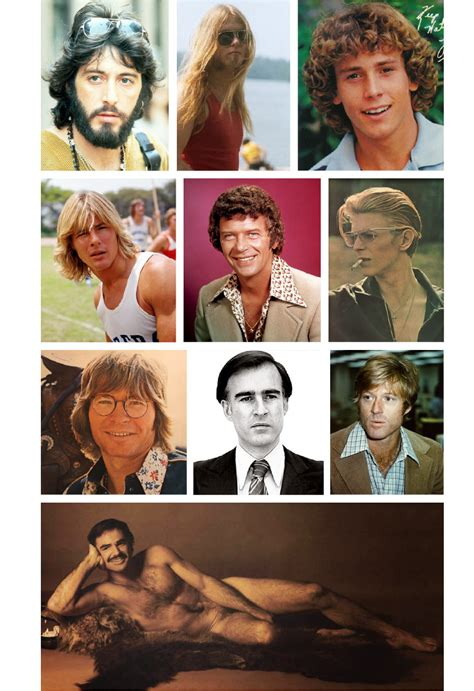 mens hair styles of 1975 the long 1970s men s hairstyles of the 1970s from upper