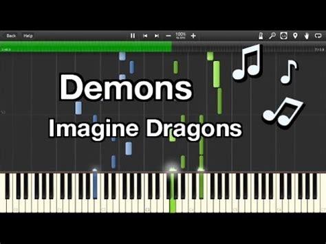 tutorial piano imagine dragons demons imagine dragons demons easy piano tutorial youtube