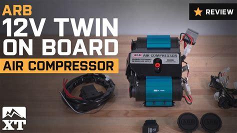 jeep wrangler arb  twin  board air compressor