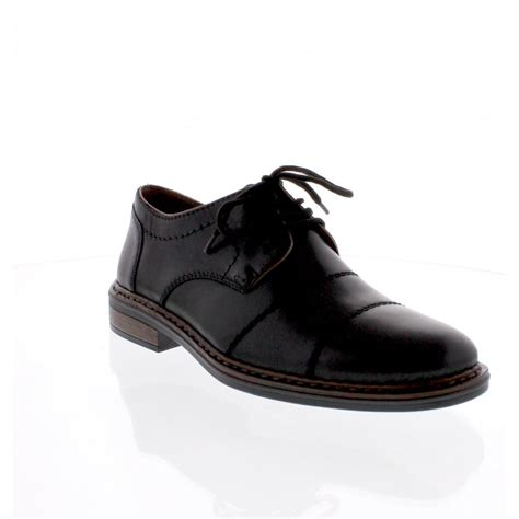 rieker 17623 00 mens black formal shoe rieker mens from