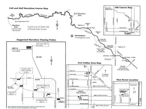 colorado road report map 2012 colorado marathon results times and more sb