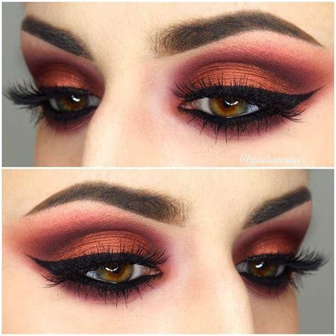 Eyeshadow Viva Orange magazine eye makeup saubhaya makeup