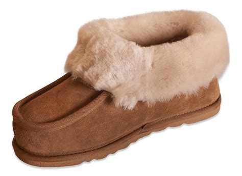 sole slippers nordvek genuine sheepskin slippers boots