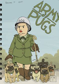 pug army pug on pug pug and pug