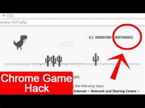 chrome game dino hacked chrome dinosaur game videos68 com