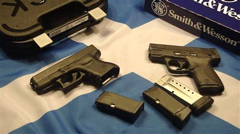 s w 26 glock 26 vs s w shield 9 quot pocket gun battle royale quot