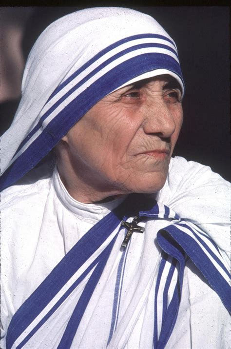 50 years of mother teresa s life to glisten on screen orphan saved by mother teresa reveals memories of saint in