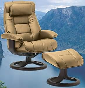 Small Leather Chair With Ottoman Design Ideas Fjords Mustang Small Leather Recliner And Ottoman Ergonomic