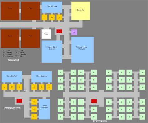workshop layout dwarf fortress layout 3 0 vert photo by tyyrlym photobucket