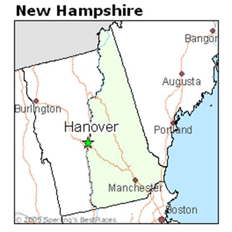 best places to live in hanover, new hampshire