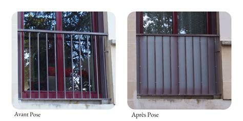 Brise Vue Pour Balcon Appartement by Brise Vue Balcon Pare Vue Et Brise Vent En Plexiglas