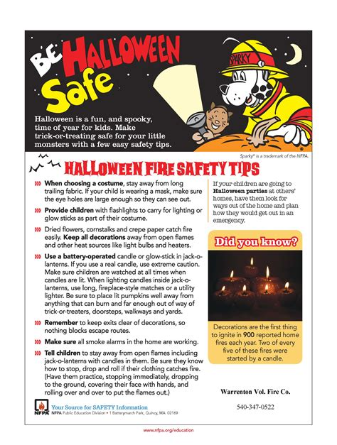 safety tips warrenton vol co