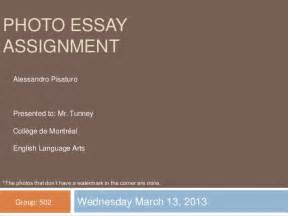 What Is A Photo Essay Assignment by Photo Essay Assignment
