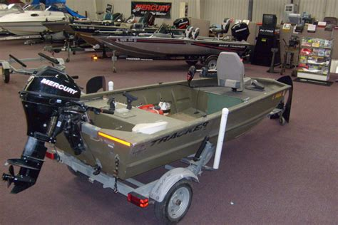2008 Tracker Boats Grizzly 1448 Aw Jon For Sale In