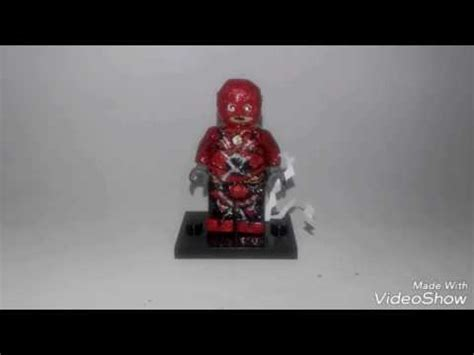 Bootleg Lego Justice League Flash lego custom minifigure flash from justice league