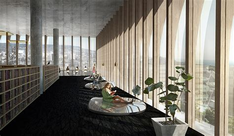 reading space spatial practice designs competition for library in varna