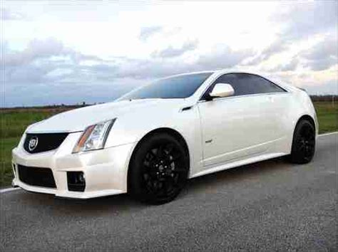 Cadillac Cts Warranty by Find Used 2011 Custom Cadillac Cts V Coupe Factory