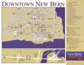 new bern map downtown new bern nc usa mappery