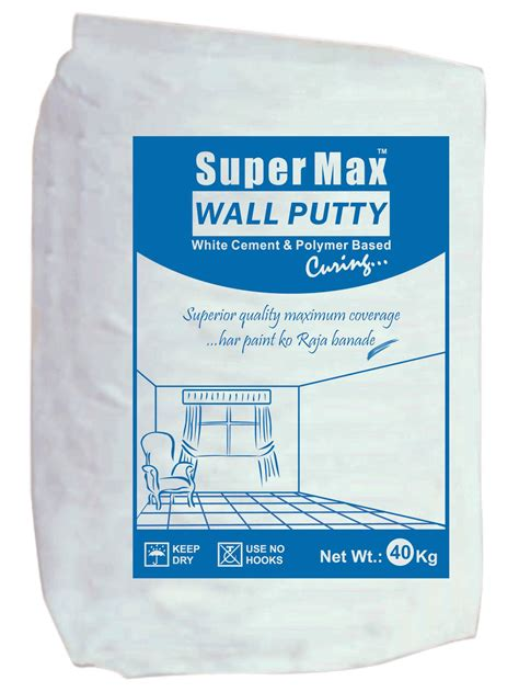 Wall Putty | supermax wall putty supermax conchem pvt ltd