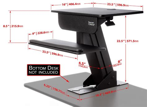 sit stand computer desk adjustable height gas spring easy lift standing desk sit