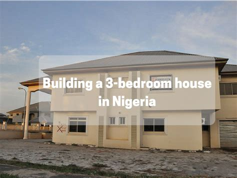 build your house how much does it cost to build a 3 bedroom bungalow in
