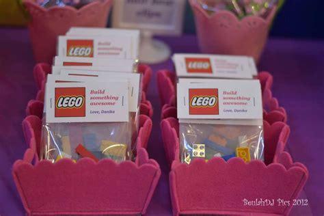 LEGO® Friends, Pink, Purple, Girl Birthday Party Ideas