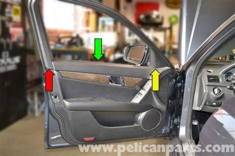 mercedes benz  front door panel removal
