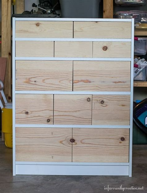 Billy Schublade by Ikea Billy Bookcase To Drawer Hack Decorating Ideas