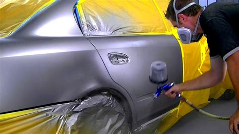 car paint how to blend metallic car paint youtube
