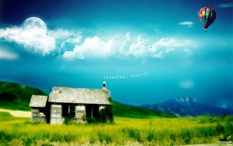 wallpaper in windows 7 location photoshopped landscapes wallpaper 294522