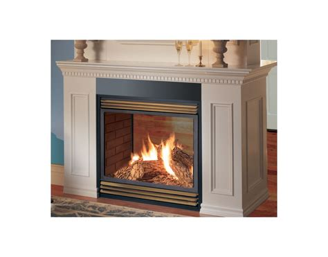 Vent Free See Through Gas Fireplace by Napoleon Gvf40n2 Gas 30 000 Btu See Thru Vent Free