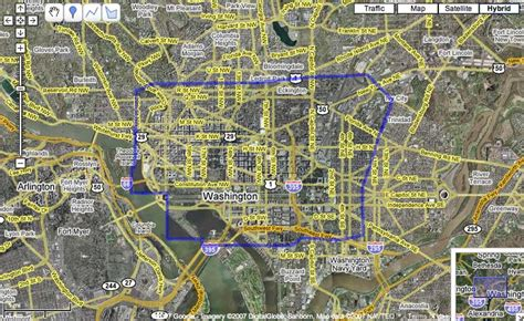washington dc limits map a new change in washington dc s imagery on s