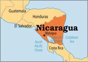 Nicaragua World Map by Nicaragua Operation World