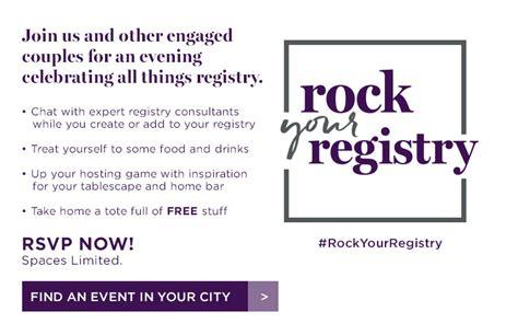bed bath beyond wedding registry bed bath beyond rock your registry farmington hills detroit wedding day