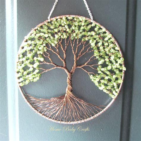wire tree wall hanging home decor peridot olive tree wire tree of life wall hanging sun