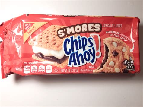 Chips Ahoy Smores Cookie review nabisco s mores chips ahoy cookies snack cellar